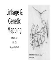Lec07-08+2015-08-10+Linkage+_+Mapping.pptx