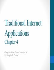 C4 Traditional Internet Applications