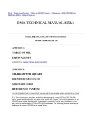 NGA DMA TECHNICAL MANUAL 8358_1