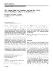 HIV Among Black Men Who Have Sex with Men in US.pdf
