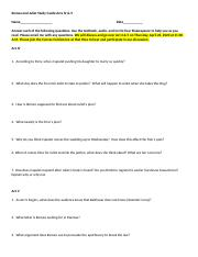 R and J Study Guide Acts 4 and 5 eLearning.doc