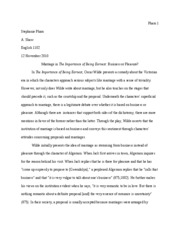 Essay Three Draft Final
