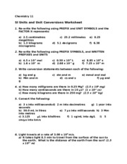 SI Units and Unit Conversions Worksheet-2.doc
