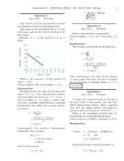 Old Midterm 1 - Solutions