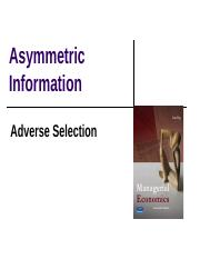 asymmetric information_adverse selction_latest version.ppt