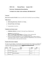 PHYS 224 _ Thermal Physics _Summer 2016_course_syllabus (Autosaved)