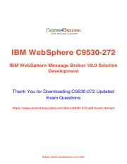 IBM C9530-272 Exam Dumps - Free Updated PDF Demo.pdf