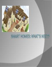 lecture 2 - Smart_Homes