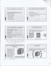 Data Administration Notes
