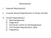 12 Reproductive 1 Asexual