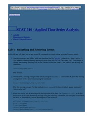 node10 Lab 4 - Smoothing and Removing Trends   STAT 510 - Applied Time Series Analysis