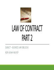 84201_Law of Contract - Part 2.pdf