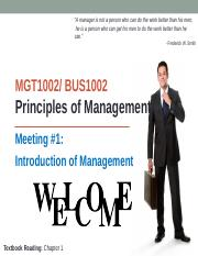 MGT1002 M1 Introduction of Management students (1)