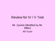 Review_for_IVand_V