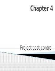 Chapter 4 Projec Cost Control.pptx