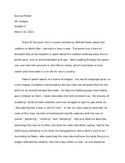 english 2 critique