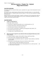 Chapter 10 Student 2nd Edition
