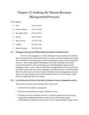 Chapter 12 Auditing the Human Resources Processes FIX