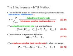 Heat exchanger-lecture 2
