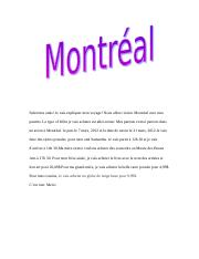 french summative (visit to montreal).doc