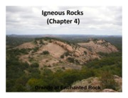 401Lecture5-IgneousRocks