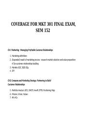 COVERAGE FOR MKT 301 FINAL EXAM-152.docx