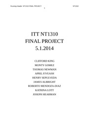 nt1310 final project