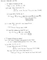 2013 Homework 10 Solution