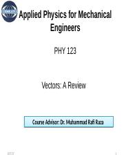 Lecture -3 (PHY 123).pptx