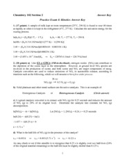 2011 Practice Exam 4 Answer Key