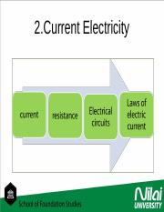 chapter 2 current electricity
