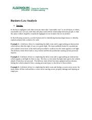 Business Law Analysis_A.docx