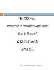 1-intro to Personality Assessment.671.Spring 2016 copy