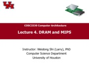 CompArch-Lec04-Memory-MIPS-3330
