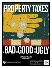 Property Taxes - The Bad, Good, and Ugly