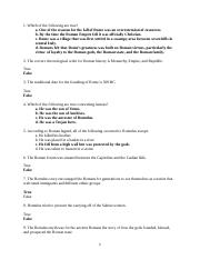 Study Guide for Foundations of Rome (FDWLD101-07).doc