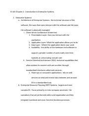 IS 445 Ch 2 Notes-Intro to Enterprise Systems.docx