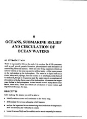 L-6 OCEANS SUBMARINE RELIEF AND CIRCULATION OF OCEANS_L-6 OCEANS SUBMARINE RELIEF AND CIRCULATION OF