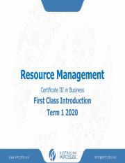 First Class Introduction Term 1 2020.pdf