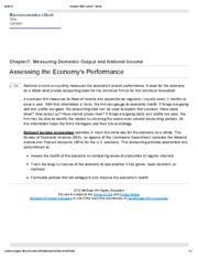 2. Assessing the Economy's Performance