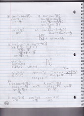 Trigonometry Notes (Chapter 6.3)