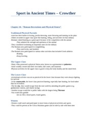 CS 2300B - Study Notes by Theme -  (18) Crowther