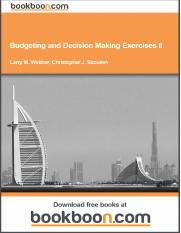 budgeting-and-decision-making-exercises-ii