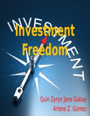 Investment Freedom.pptx