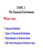 Topic3FinEnviron.ppt