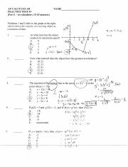 Practice Test #3 (3.4-3.6) - solutions