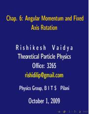 6 - Angular Momentum and Fixed Axis Rotation.pdf