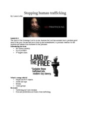 informative speech on human trafficking · hi, i am doing an informative speech on human trafficking what can i use as my three points thanks help with informative human rights speech topic.