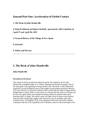 Journal 1 Accelerating Global Contact