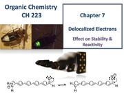 Chapter 7 - Delocalized Electrons & Resonance Structures